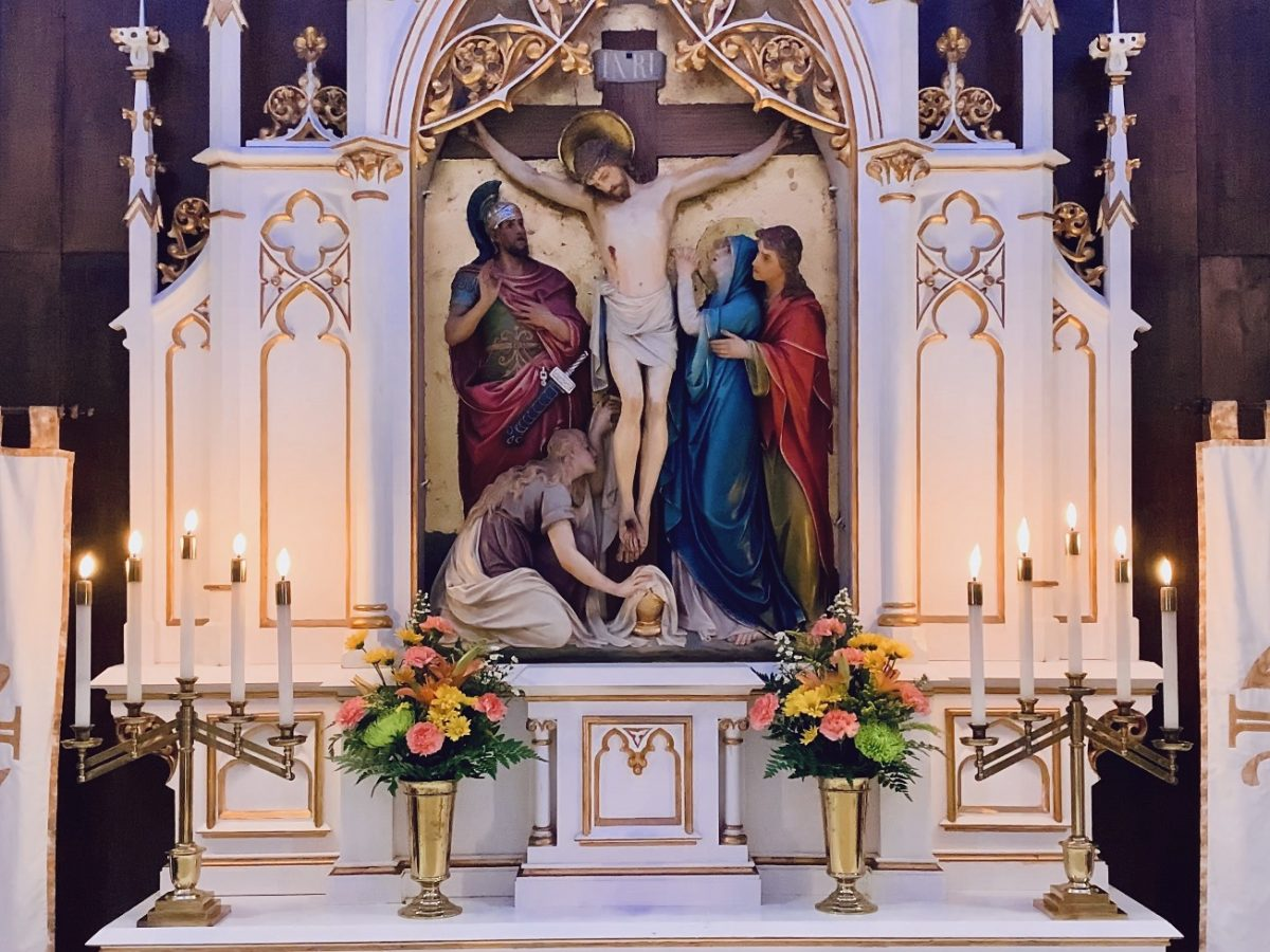 Altar and Reredos for May 3, 2020 Service